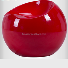 ball stool plastic apple ABS ball chair stool