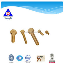 high tensile good grade steel ,copper and aluminium bolt and nut