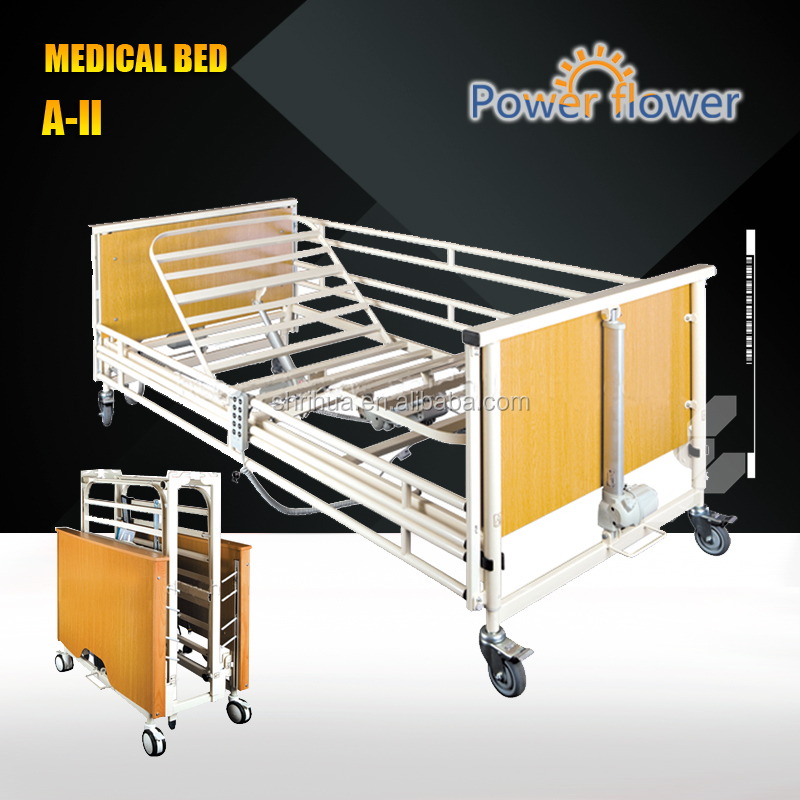 DHC-I Eight-function used electric hospital bed CE ISO hospital beds used with CRP function