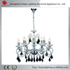 Huipu Lighting New Design wedding decoration plastic chandelier