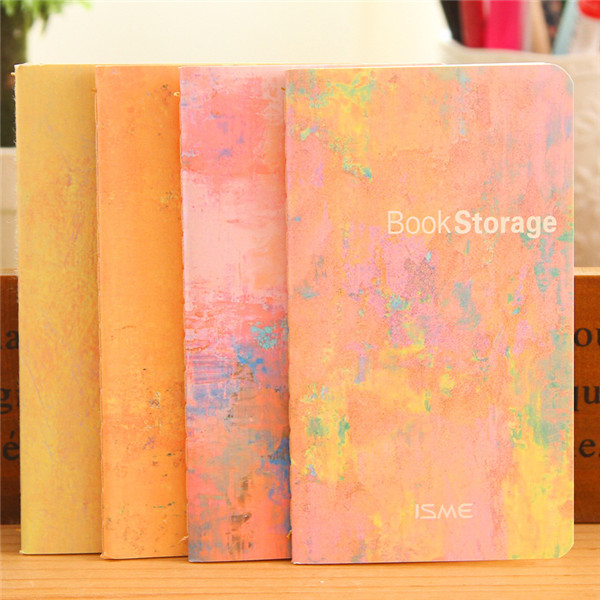 free sample eco friendly stationery 80K personalized binder book storage cheap pocket notebook
