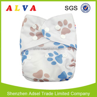Alva washable and reusable adult baby style diapers wholesale China