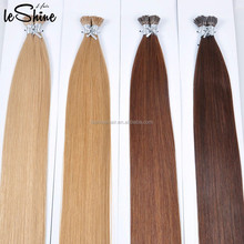 100% Virgin Raw Cheap Made In China Dark Brown Brazilian Hair Germany, Virgin Remy Brazilian Micro Loop Hair Extensions
