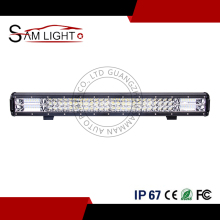 Waterproof Triple Row Spot&Flood Combo Driving Lamp Aluminum Alloy 24'' 288w Led Light Bar for 4WD Off Road