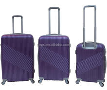 FASHION PLAIN COLOR PC TROLLEY LUGGAGE SETS