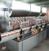 factory price automatic canned lube grease filling machine/canned motor oil filling machine