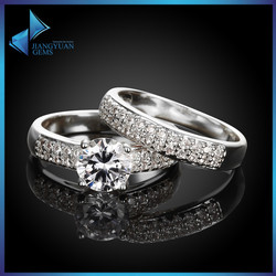 newest design fancy couple rings,ring set