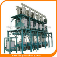 Superior quality auto control high quality wheat flour mill equipment