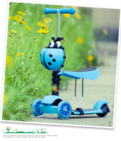 2017 Upgrade music light scooter kids wholesale 3 wheel scooter