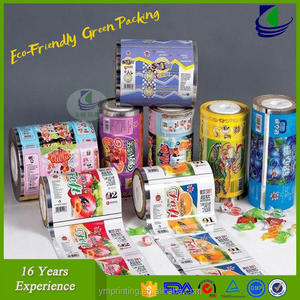 Food packaging laminating stretch film