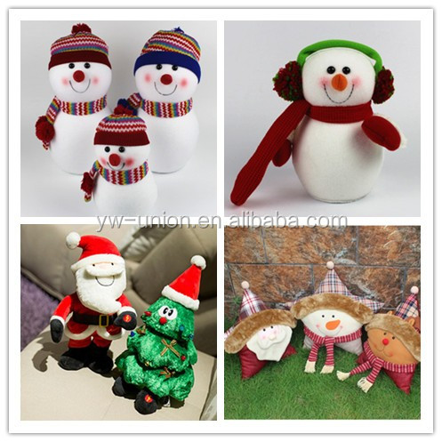 christmas toy/small santa claus /santa claus doll/LED