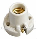 porcelain / ceramic led candle lamp holder socket E14