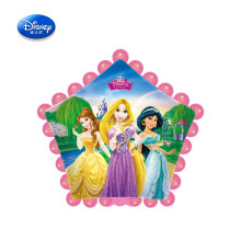 Star shaped Princess printing foil balloon for decor