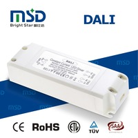 dali dimming led driver constant current 10w 20w 30w 36w 40w 45w 50w 60w transformer with plastic cover