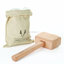 Professional Lewis Ice Bag Wood bar Mallet