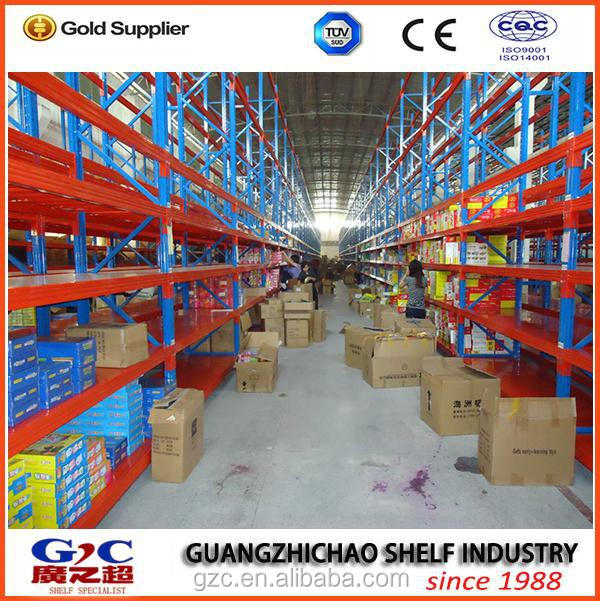 made in China heavy duty big factory using high quality metal pallet shelving