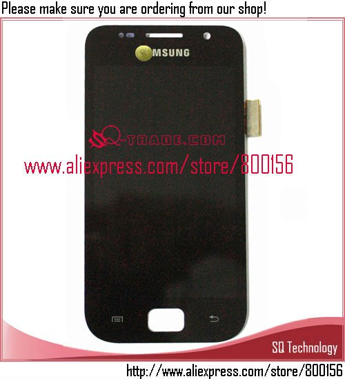 for Galaxy SL i9003 LCD Display Screen Complete for Samsung Mobile black
