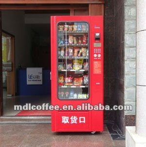 Hot Sale Instant Noodles and Beverage Combo Vending Machine Model LV-205A