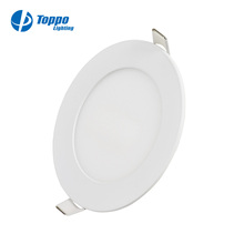 CE ROHS Shenzhen Toppo Led Round Panel light 50000 hours lifetime and 5 years warranty
