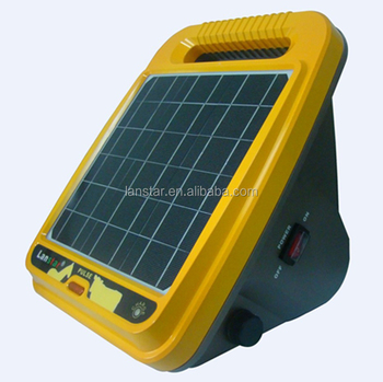 hot sale Poultry equipment electronics fence energizer with solar system inside re charger panel