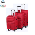 Alibaba Chian wholesale ultra lightweight smart organization 3 pcs airport luggage trolley with 4 wheels