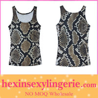 2013 new style snake skin printed cool galaxy vest