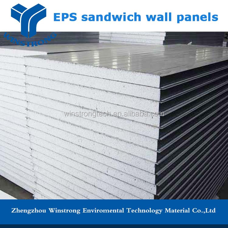 1 4 Eps Wall Panels : Aluminum eps roof and wall sandwich panels price buy