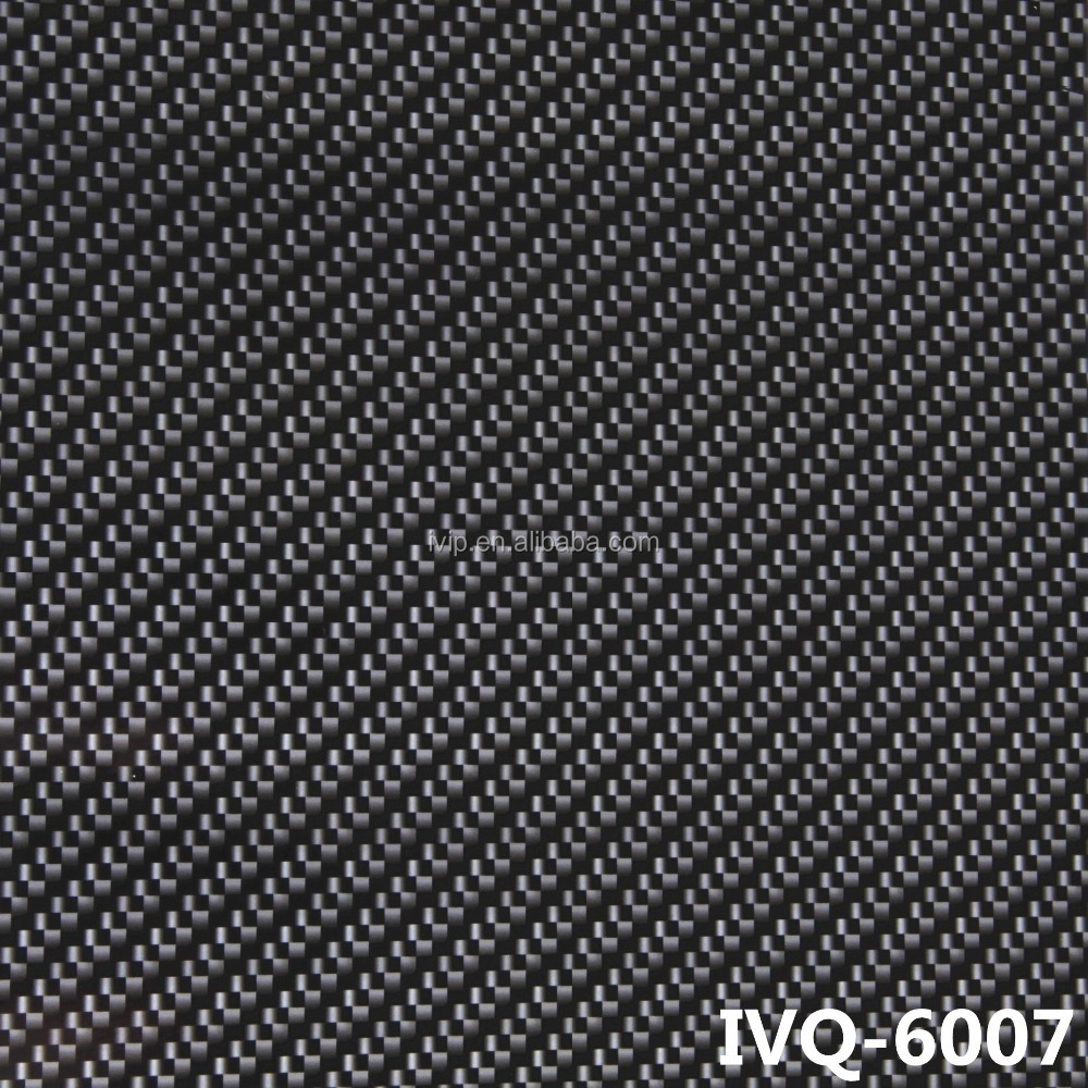 100CM/120CM Black Carbon fiber Hydrographic Printing Film water transfer hydro dipping film IVQ-6007