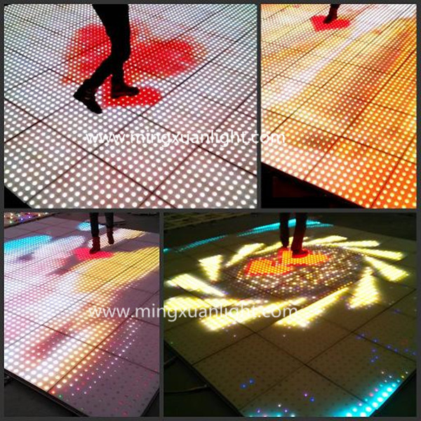 NEW cheap p20 portable sensitive interactive led dance floor YS-1504