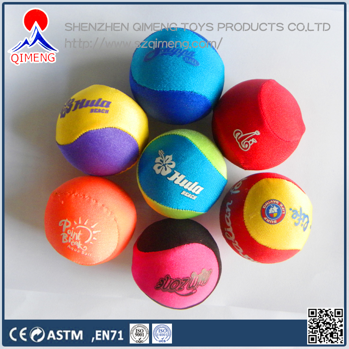 TPR Rubber Material Promotional Toy Style Water Fabric Gel Ball