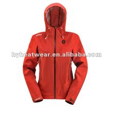 Rechargeable Battery Heated Outdoor Jackets Womens Sports Jackets 2014