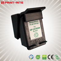 Remanufactured Black Inkjet Cartridge C8765W for HP pigment ink