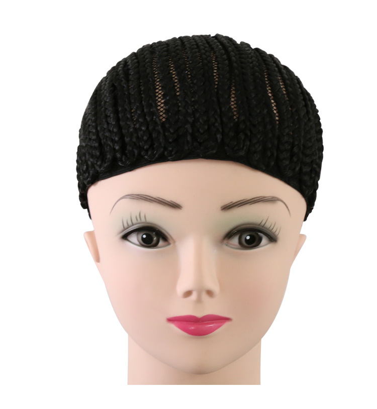 Wholesale Cornrows Cap For Easier Making Wig Less Stress On Your Natural Hair Braided Wig Cap Net For Black Women