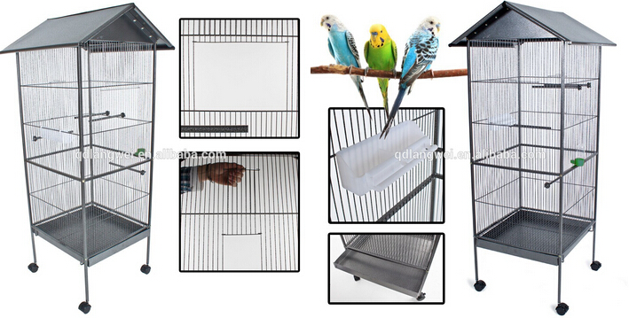 small bird cage wire mesh folding bird cage