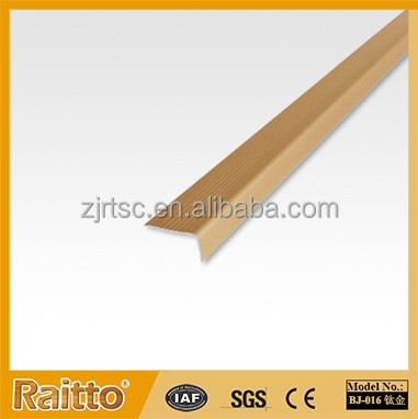 RAITTO HX Series Stair and Floor Corner Guard Aluminum Tile Trim