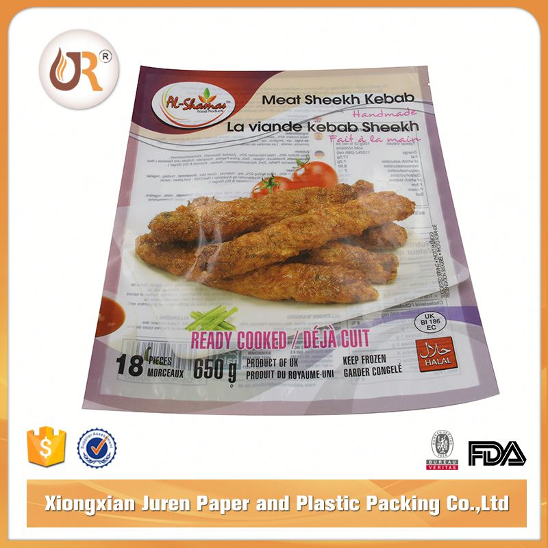 High Quality Food Grade Easy To Use Cleaner Frozen Meat Vacuum Storage Bag