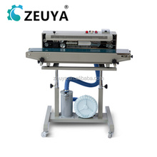 Classical Gas Flush horizontal steel coding continuous sealing machine DRF-1000 China Manufacturer