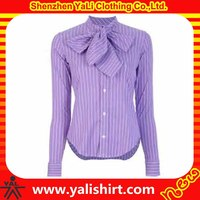 High quality cheap plain long sleeve office uniform designs for women pants and blouse
