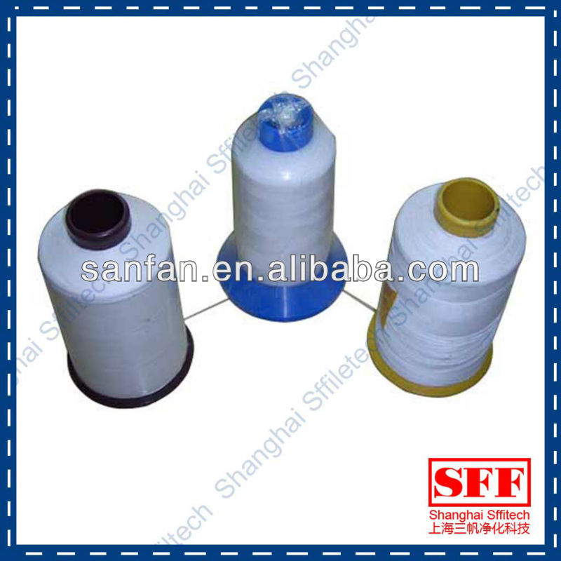 wholesale professional best ptfe sewing thread for fiberglass filter bag