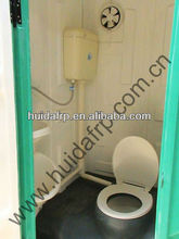 2014 new style high quality good price fiberglass portable toilet