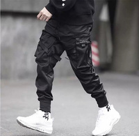 Fashion Baggy Pants With Side Pockets Cargo Pants Mens