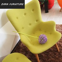 new products high quality Grant featherston contour chair fabric easy chair shenzhen