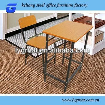 plastic school desk and chairs wirh bookrack