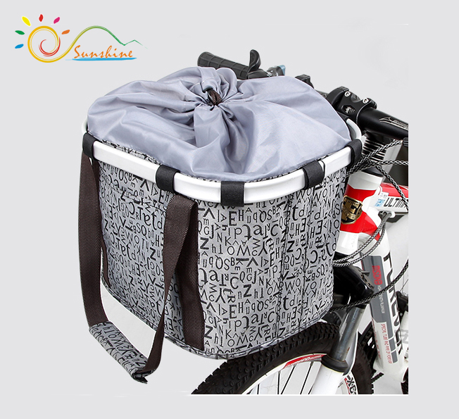 hotsale removable folding bicycle hanging basket