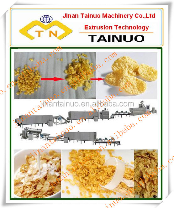 Breakfast cereal/snacks food production machines/extruders