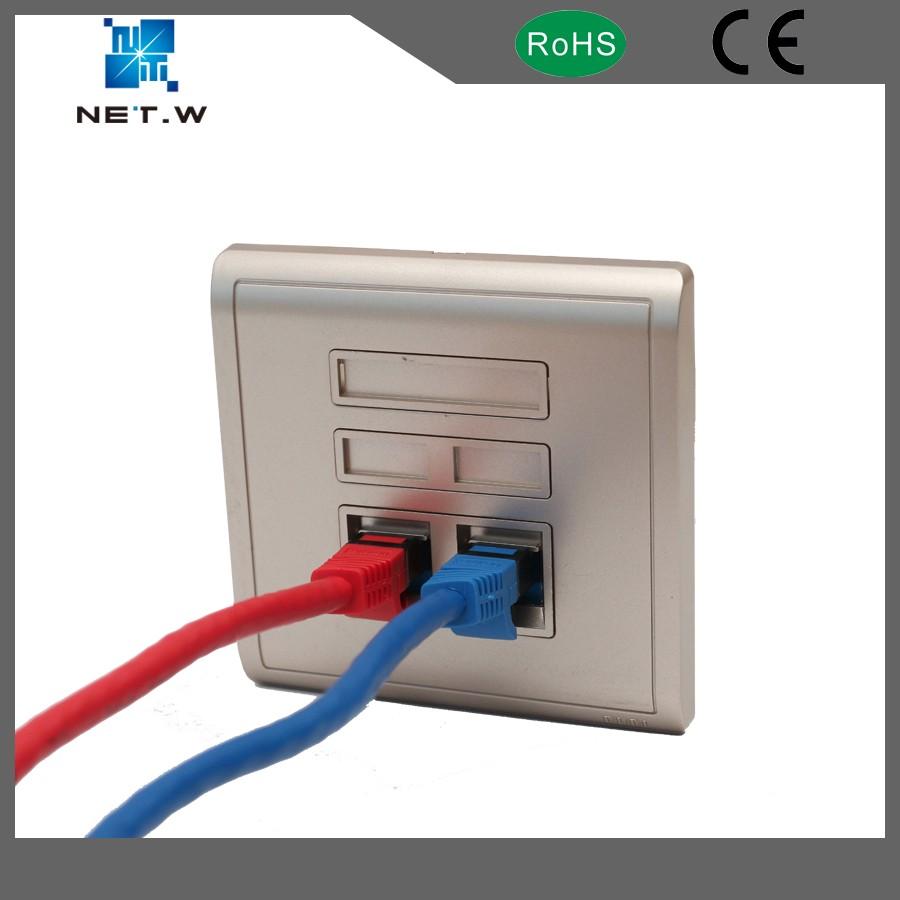 Network Solution Category 6a 90degree Utp Rj45 Modular Keystone Jack B Amp A Cat 6 Wiring Diagram