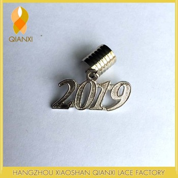 2019 Silver Adult Charm For Graduation