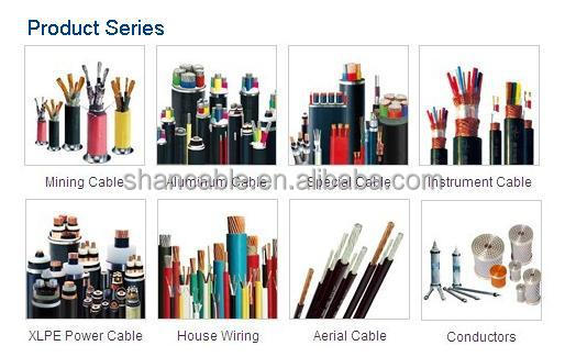 Copper conductor XLPE insulated PVC sheathed prefab branch cable fire resistant Prefabricated Branch Cable