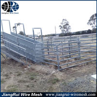 Durable cattle yard design / cattle gates / oval rail yard equipment