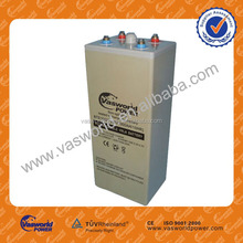 China manufacture Solar UPS AGM storage battery, long term lead acid battery plate in high quality